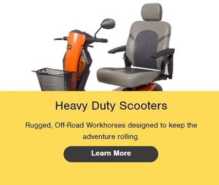 Picture for category Heavy Duty Scooters