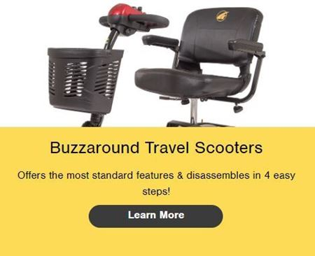 Picture for category Buzzaround Travel Scooters