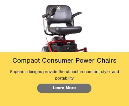 Picture for category Compact Consumer Power Chairs