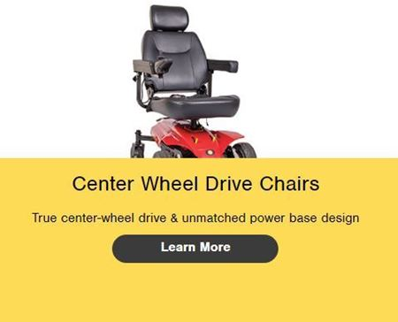 Picture for category Center Wheel Drive Chairs