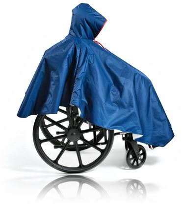 Picture of Wheelchair Rain Poncho