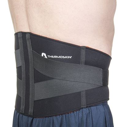 Picture of Thermoskin Lumbar Support, Black