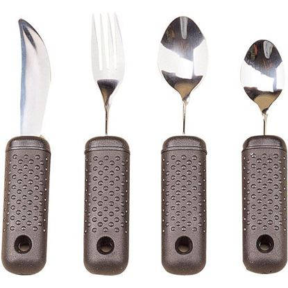Picture of Built-up Handle Bendable Utensils